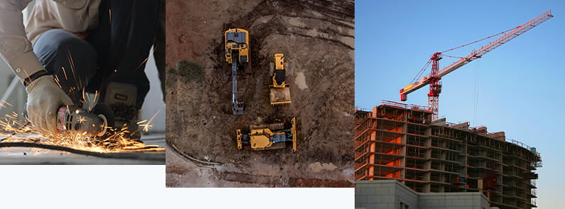 Фото строительных работ