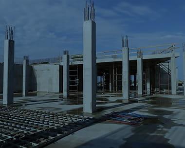 Устройство бетонных колон