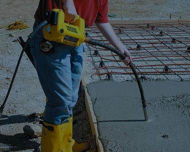 Уплотнение бетонной смеси