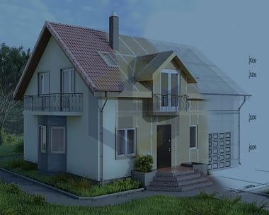 Домов и коттеджей